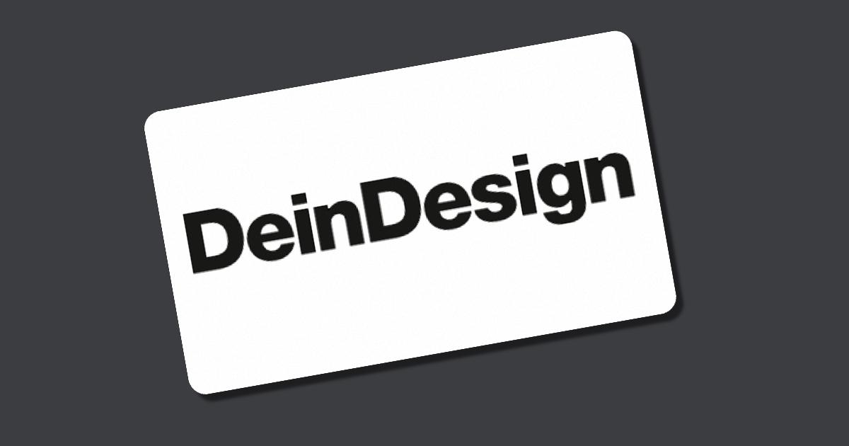 Dein Design Gutschein